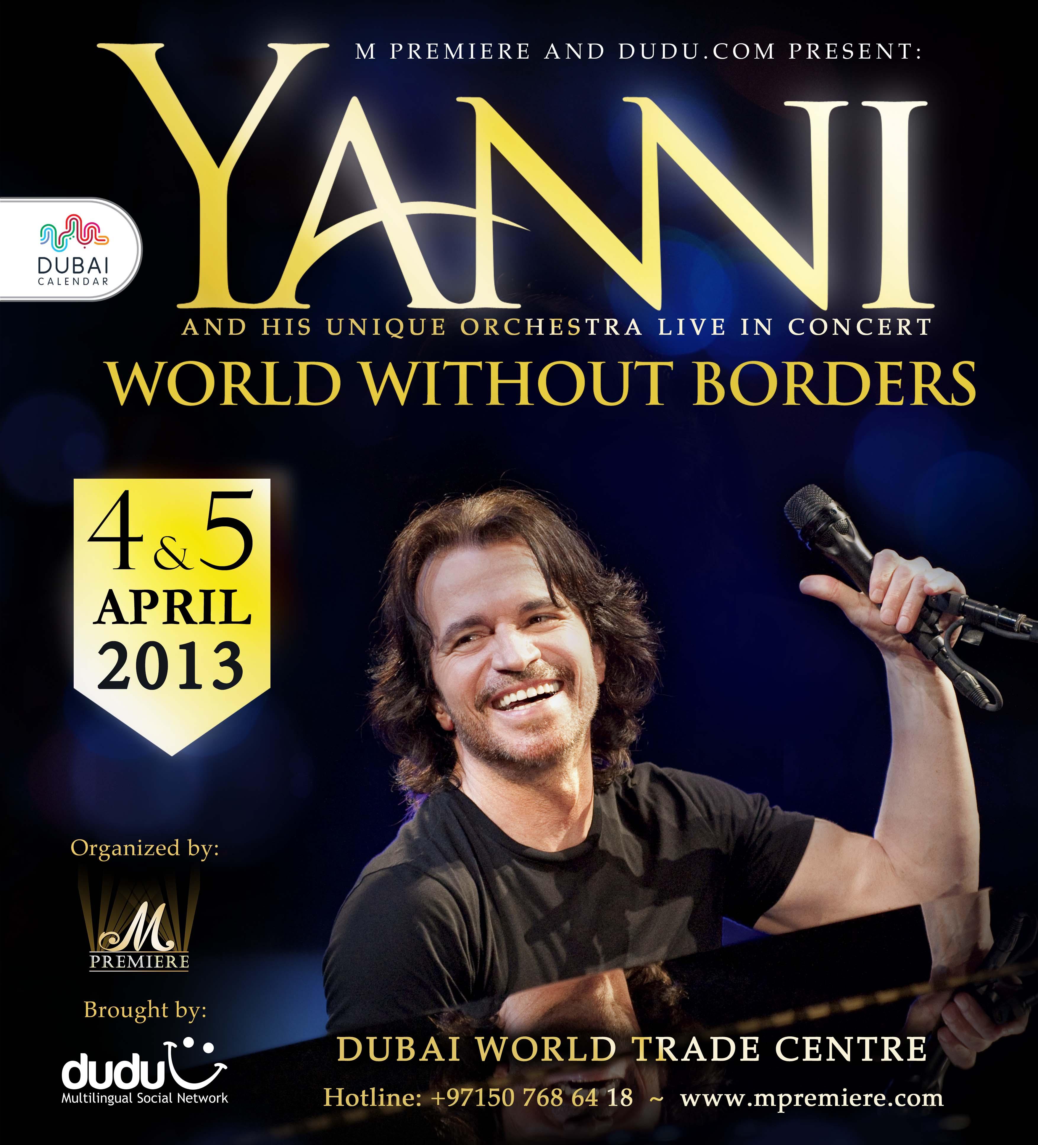 Yanni live!the concert event
