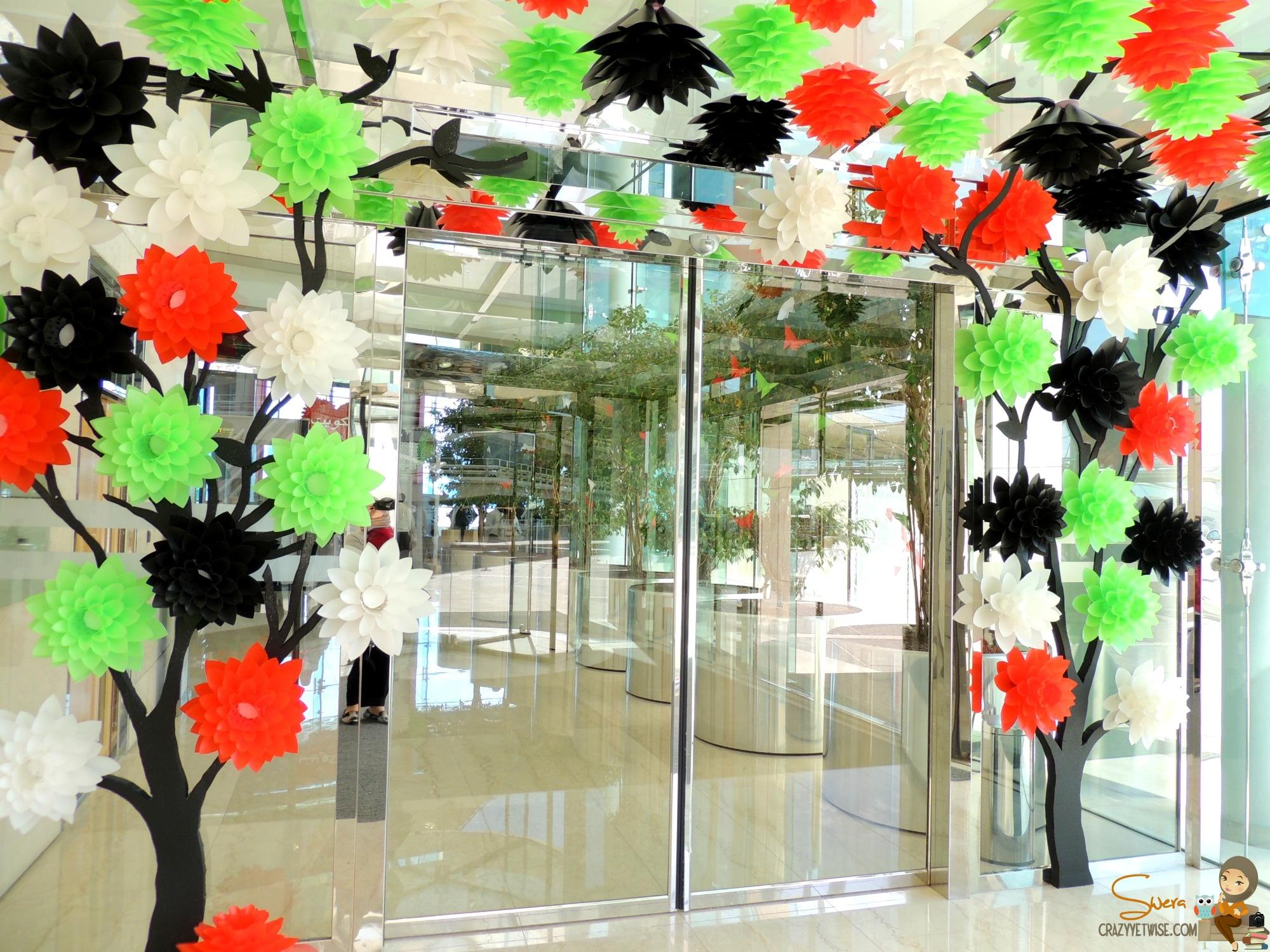 Uae national day celebration ideas for International decor uae
