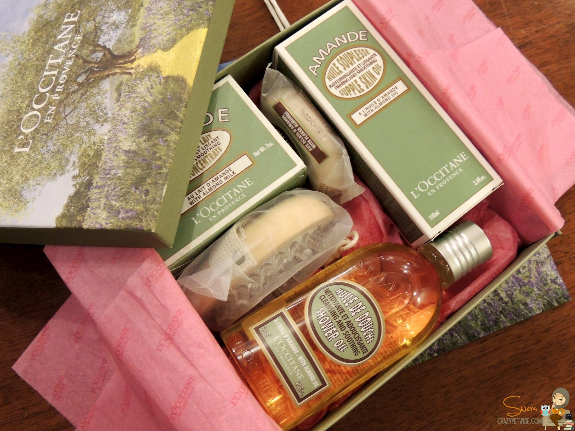 L'Occitane April's Beauty Box   Crazy Yet Wise