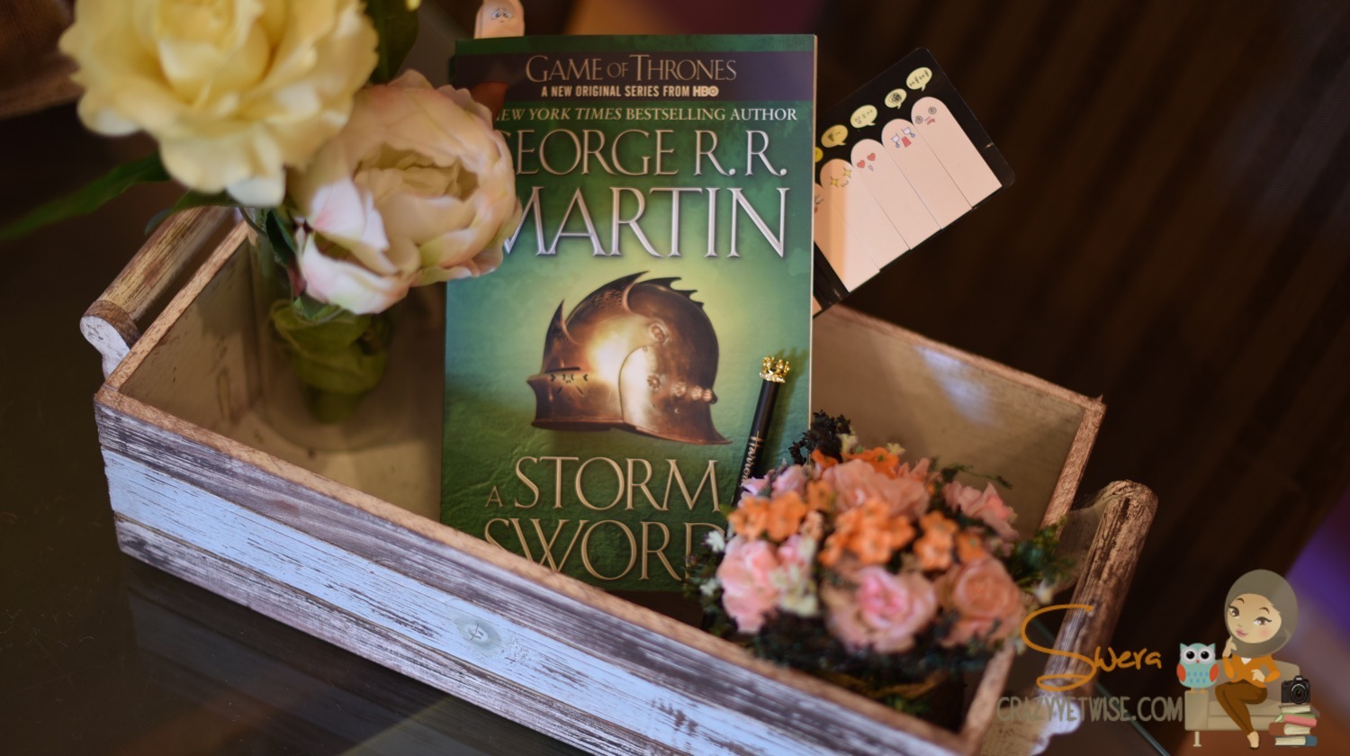 book review a storm of swords a song of ice fire feedly liskw i can say that i m proud of myself for finishing this book in less than a month and i can also say that i ve enjoyed every word and page of this book